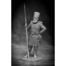 Russian warrior Moscow or Nizhny Novgorod militia, 1812 (CHM-54085(M))