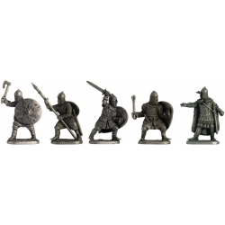 """A set of """"Russian medieval warriors"""""""