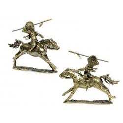"""Всадник """"Битва при Литтл-Бигхорн, 1876 г. Индейцы"""", (1876 111)"""