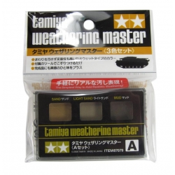 Weathering Master A Set - Sand, Light Sand, Mud