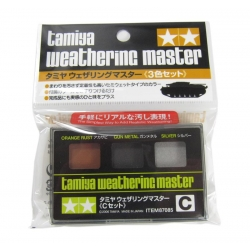 Weathering Master C Set - Orange Rust, Gun Metal, Silver (87085)