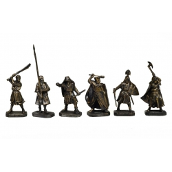 Battle on the Ice - Knights of the Teutonic Order, bronze (PTS-4035)