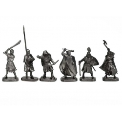 Battle on the Ice - Knights of the Teutonic Order, pewter (PTS-4035)