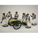Artillery set. Russia, 1812 (painted)