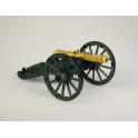 6 pound cannon walking and horse artillery. Russia, the 1st half of the 19th century (AR08 painted)