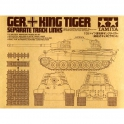 1/35 King Tiger Separate Track Link (35165)