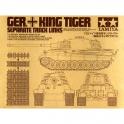 Наборные траки для танков King Tiger (1:35) (35165)