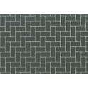 Diorama Material Sheet - Gray-Colored Brickwork (87169)