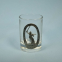 "Glass ""Volgograd"" (1 pc.) (1222)"