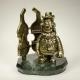 "Figurine ""Fuchs"" on natural stone (93479)"