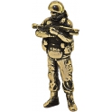 "Soldier HUSSAR, ""Friendly people"", brass (PPL-02)"
