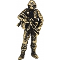"Soldier SILVAN, ""Friendly people"", brass (PPL-03)"