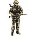 "Soldier YAKUT, ""Friendly people"", brass (PPL-04)"