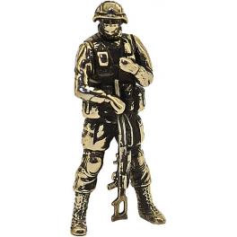 "Soldier BOGGART, ""Friendly people"", brass (PPL-06)"