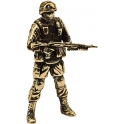 "Soldier KLIM, ""Friendly people"", brass (PPL-09)"