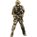 "Soldier GOLDEN EAGLE, ""Friendly people"", brass (PPL-10)"
