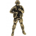 "Soldier GYURZA, ""Friendly people"", brass (PPL-11)"