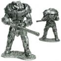 X-01 силовая броня. Воин из игры Fallout 4 (Gm-07)