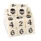 """Набор кубов 12 мм - слоновая кость"""" (Maelstrom Dice - Ivory, 12mm) (65-37)"""