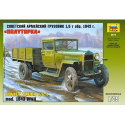 The Soviet army truck model 1943 GAZ - MM