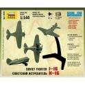 WWII Советский истребитель И-16 (6254)