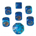 BLOOD BOWL REIKLAND REAVERS DICE SET (200-14)