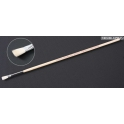 Кисточка плоская широкая №0 (конский волос, ручка дерево) (87015)