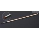 Кисточка плоская широкая №1 (конский волос, ручка дерево) (87028)