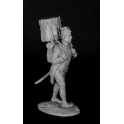Барабанщик гренадерских рот линейных полков на марше. Франция, 1800-05 г.г. (CHM-54124(M))
