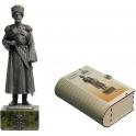 Император Николай II в парадной форме Собственного Его Императорского Величества Конвоя. Российская Империя, 1911 г. (120Met-01)