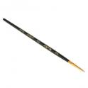 Кисть Синтетика круглая Roubloff №00 короткая ручка покрыта лаком (1S15)