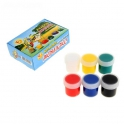 "Expopribor. Acrylic paint ""ACRILEX"". Set of 6 colors * 20 ml"