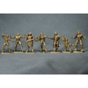"Set ""Defenders of the universe"". 40 mm, bronze"