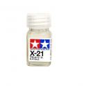 Enamel Paint X-21 Flat Base - 10ml Bottle (80021)