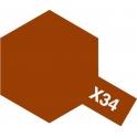 X-34 Metallic Brown (Металлик: коричневая) краска эмалевая глянцевая 10 мл