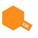 X-26 Clear Orange (Прозрачная оранжевая) краска эмалевая глянцевая 10 мл