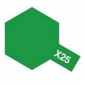 X-25 Clear Green (Прозрачная зеленая) краска эмалевая глянцевая 10 мл