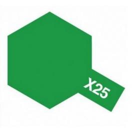 Mini X-25 Clear Green 10ml Bottle