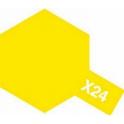 X-24 Clear Yellow (Прозрачная желтая) краска эмалевая глянцевая 10 мл