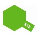X-15 Light Green (Светло-зеленая) краска эмалевая глянцевая 10 мл