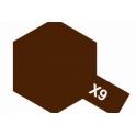 X-9 Brown (Коричневая) краска эмалевая глянцевая 10 мл