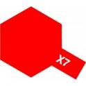 X-7 Red (Красная) краска эмалевая глянцевая 10 мл