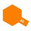 X-6 Orange (Оранжевая) краска эмалевая глянцевая 10 мл