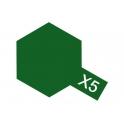 X-5 Green (Зеленая) краска эмалевая глянцевая 10 мл