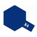 X-4 Blue (Синяя) краска эмалевая глянцевая 10 мл