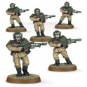 EASY TO BUILD ASTRA MILITARUM CADIANS (35-33)