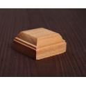 Деревянная подставка-подиум 4*4 см, бук (2916234)