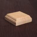 Wooden stand 4 * 4 cm, beech (2916235)