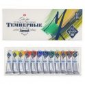Tempera paints in tubes, 12 col. x 18 ml, Master Class (1641007)