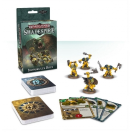 Вархаммер. Подземелья: Парни Железного Черепа (рус.) Warhammer Underworlds: Shadespire – Ironskull's Boyz (110-03-21)